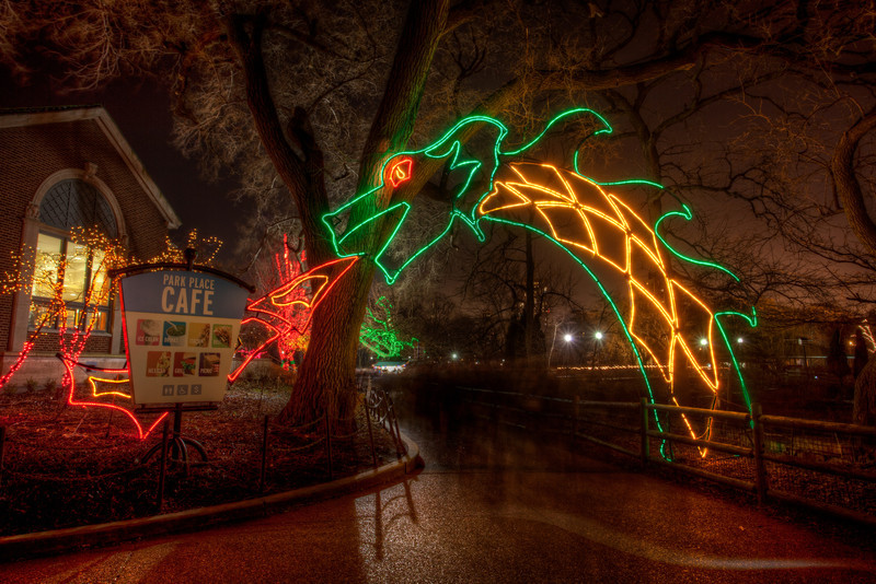 Lincoln Park Zoo Lights | Out of Chicago Photography